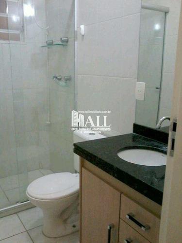 casa de condomínio com 3 dorms, condomínio residencial jardins de barcelona, são josé do rio preto - r$ 348.000,00, 120m² - codigo: 3736 - v3736