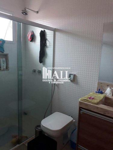 casa de condomínio com 3 dorms, residencial figueira ii, são josé do rio preto - r$ 688.000,00, 151m² - codigo: 3753 - v3753