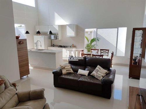 casa de condomínio com 3 dorms, residencial figueira ii, são josé do rio preto - r$ 698.000,00, 170m² - codigo: 3734 - v3734