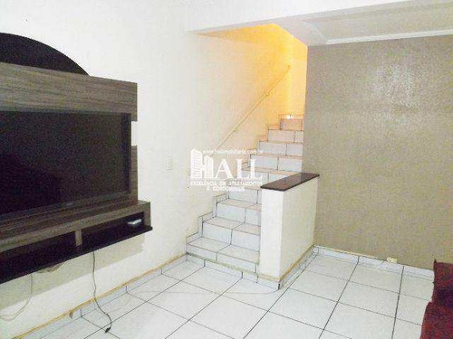 casa de condomínio com 3 dorms, vila borguese, são josé do rio preto - r$ 167.000,00, 105m² - codigo: 3547 - v3547