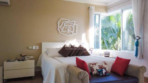casa de condomínio de 6 dormitórios à venda, 592 m² por r$ 4.500.000 - fazenda vila real de itu - itu/sp - ca7409