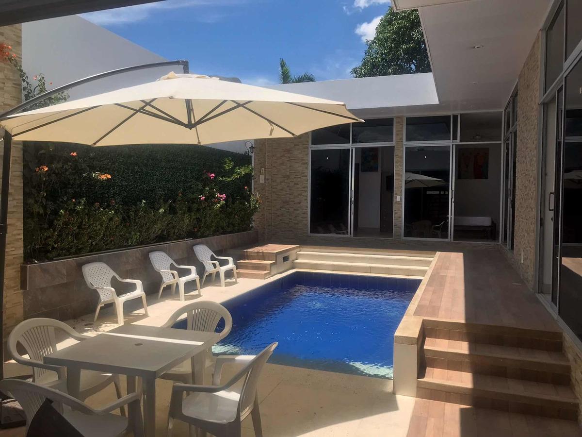 casa de descanso piscina totalmente equipada