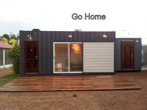 casa de dos ambientes estilo minimalista