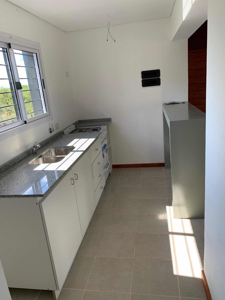 casa de dos dormitorios 60 cuotas se entrega en agosto 2020