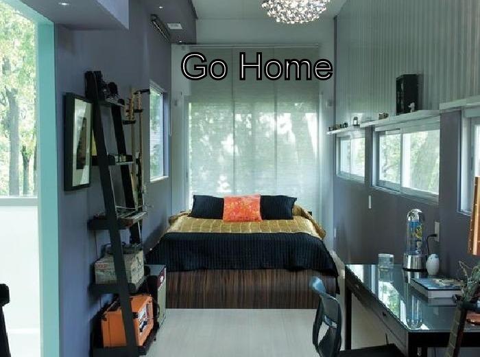 casa de dos o tres ambientes estilo minimalista a estrenar
