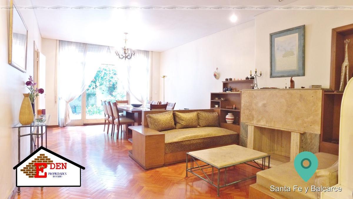 casa de estilo - 4 dormitorios - reciclada | santa fe y balcarce - uso profesional