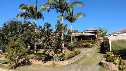 casa de fazenda em condo de luxo atibaia - venda  /  ca-319