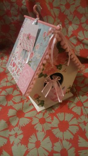 casa de fibrofacil decorada souvenirs central