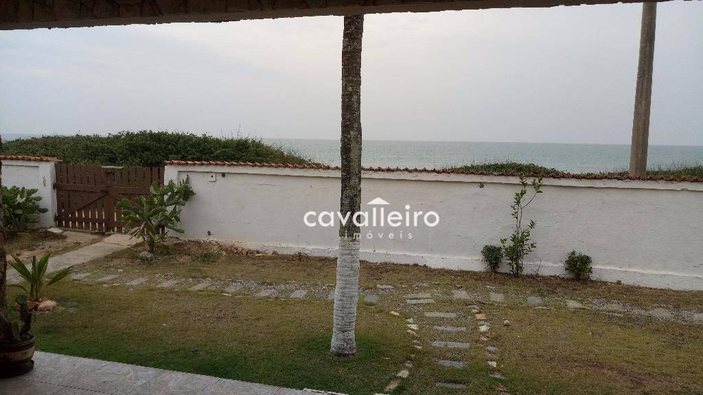 casa de frete para a praia de cordeirinho (ponta negra), maricá. - ca2631