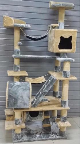 casa de gato gimnasio rascador grande