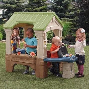 casa de juegos al aire libre para nios step importadas