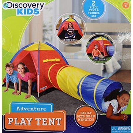 Casa De Juegos Con Tunel Discovery Kids Envio Gratis 1 160 00 En