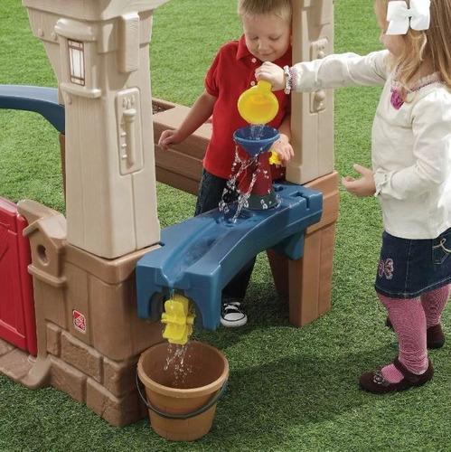 casa de juegos de aventuras great outdoors playhouse step2