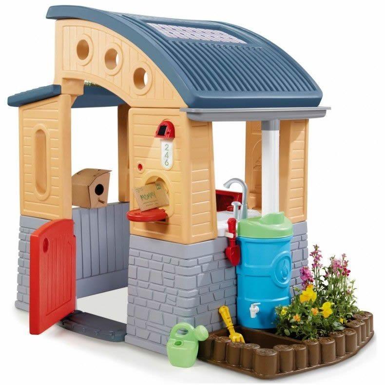 Casa De Juegos Para Niños - Little Tikes - De Exterior - U$S 599,00 ...