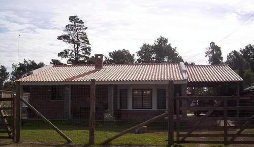 casa de ladrilo - dos dormitorios - llave en mano usd 16500
