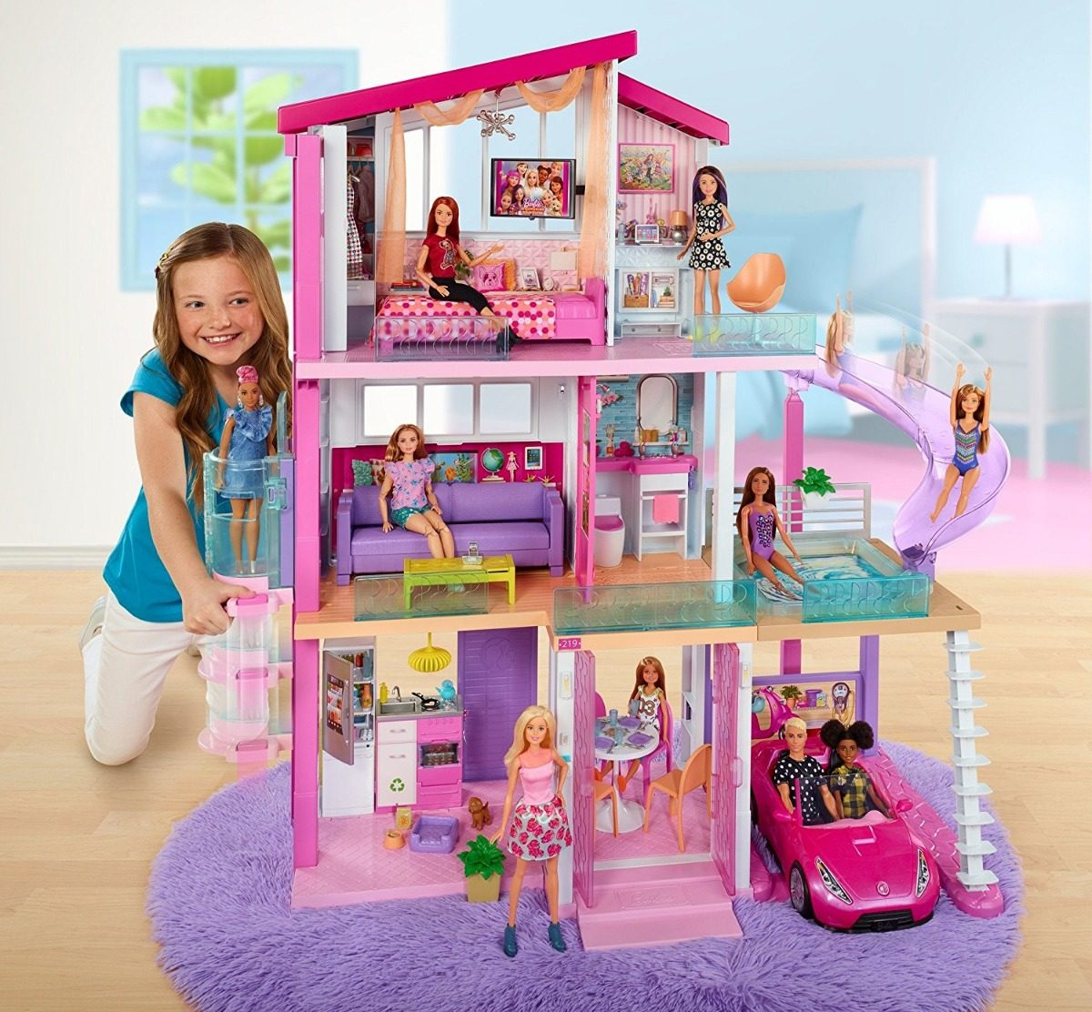Casa De Los Suenos 2018 Barbie 360 Fhy73 3 299 00 En Mercado Libre
