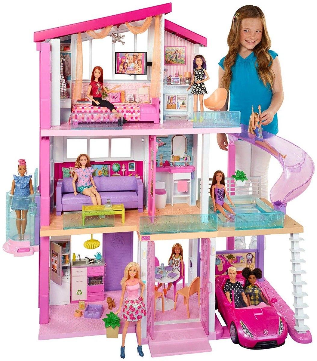 Casa de los sue os 2018 barbie 360 fhy73 3 en mercado libre - La casa de barbie de juguete ...