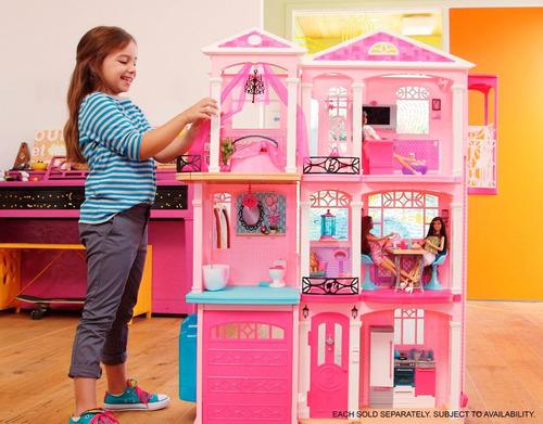 Casa de los sue os barbie 3 en mercado libre - La casa de barbie de juguete ...