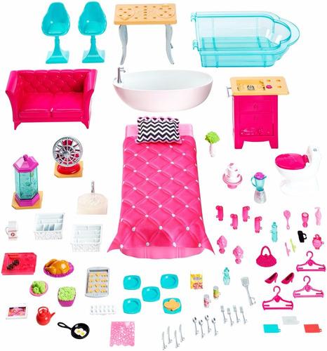 Casa De Los Sue 241 Os Barbie 3 900 00 En Mercado Libre
