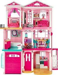 casa de los sueños (barbie) rosa con todos los accesorios