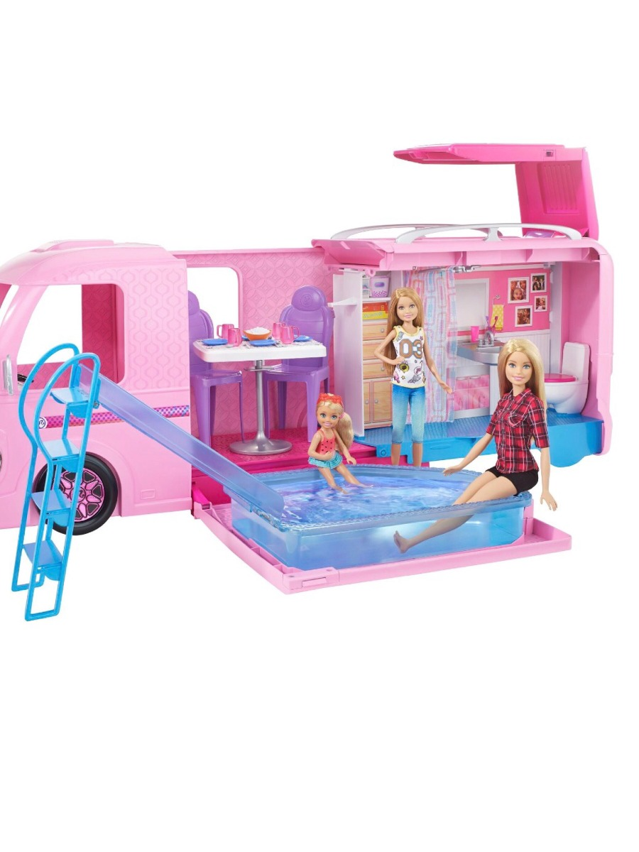 casa de los sue os de barbie camioneta bs en mercado libre. Black Bedroom Furniture Sets. Home Design Ideas