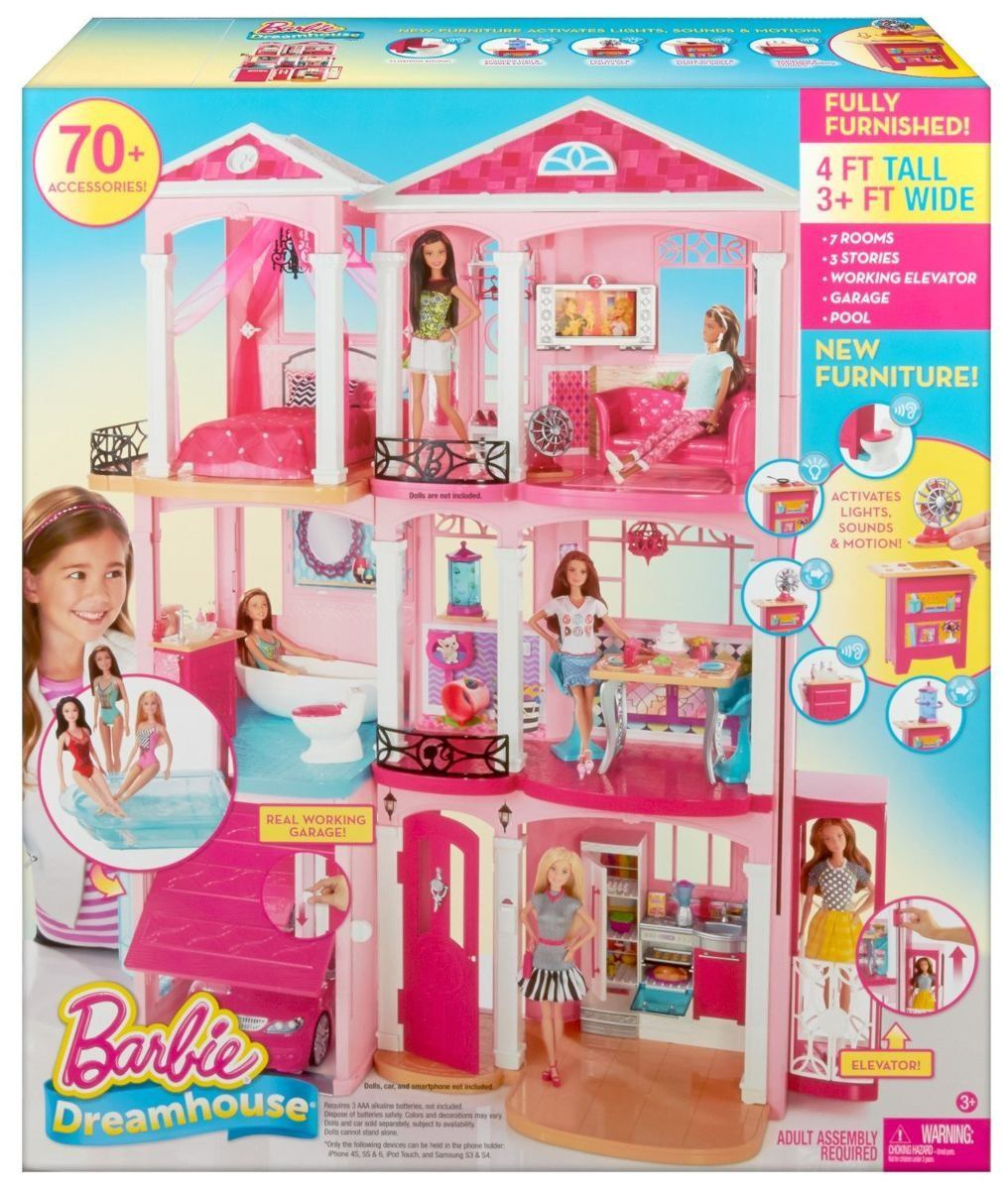 Casa de los sue os de la barbie s en mercado libre - La casita de los suenos ...