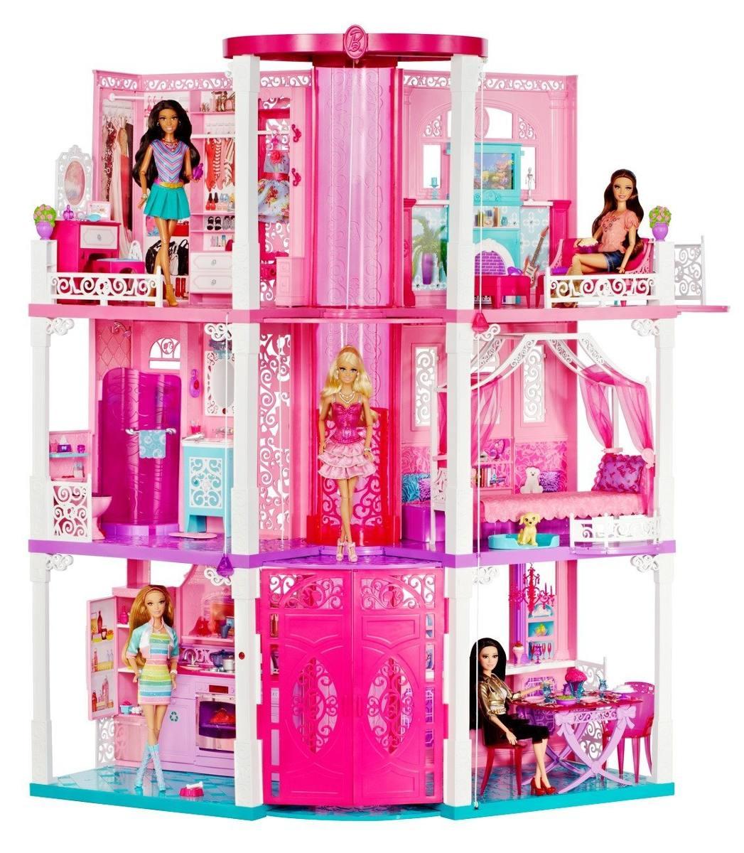 6e40e4989 casa de los sueños de la barbie x rosada -   2.847.211 en mercado