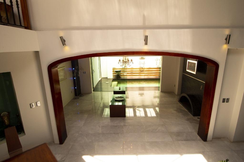 casa de lujo en venta   col. real san bernardo