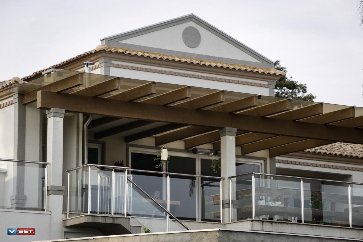 casa de luxo em condomínio de alto padrão em atibaia/sp.
