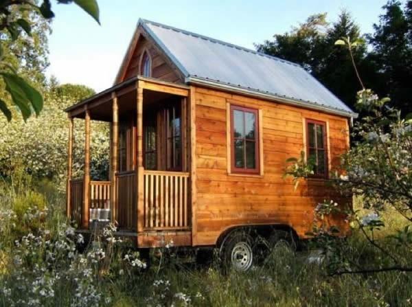 casa de madera area pequea portatil