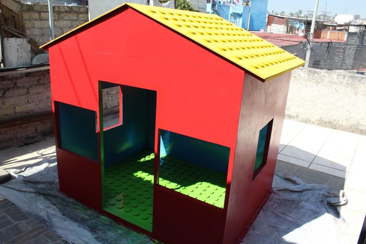 Casa de madera para ni os 8 en mercado libre - Casa infantiles de madera ...