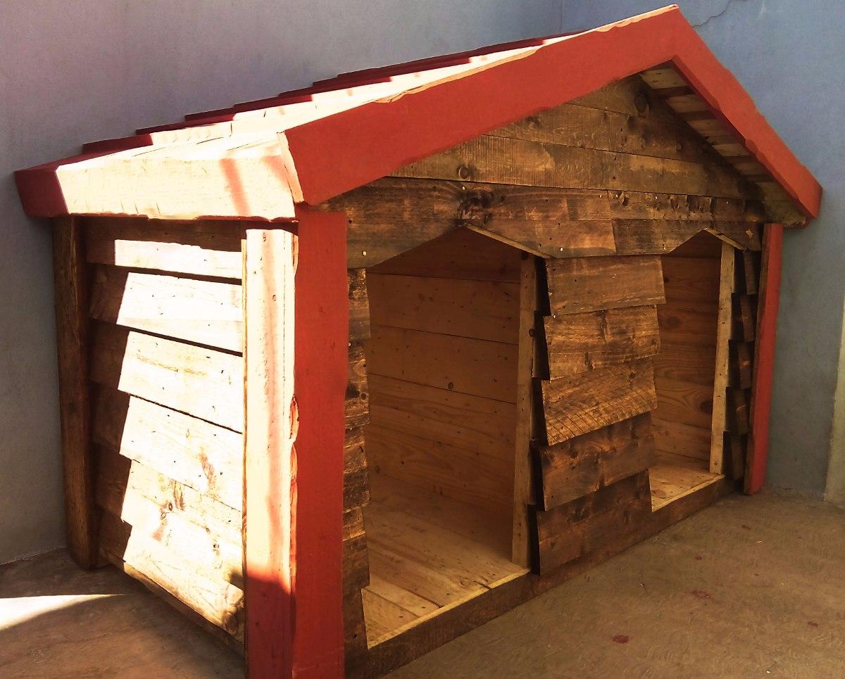 Casa de madera para perro extra grande dogo 3 for Cuanto cuesta una recamara completa