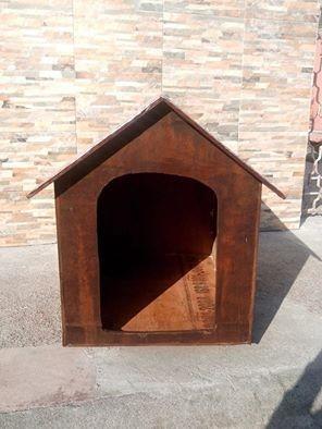 Casa de madera para perro maciza y resistente al agua - Casas de madera maciza ...
