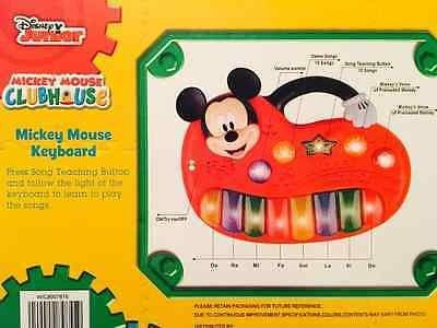 casa de mickey mouse enseñanza teclado - disney junior