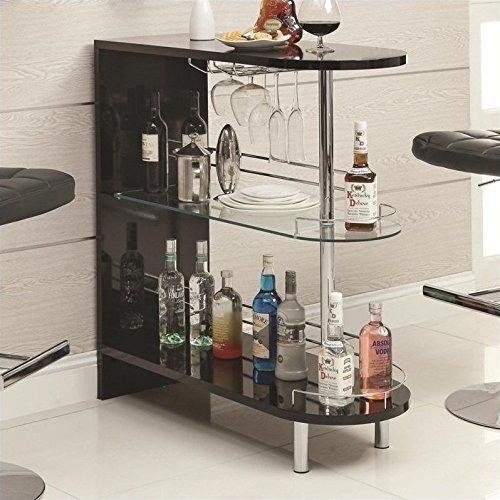 Muebles 101063 Contemporáneo Bar Mesa Negro  $ 2009900 en Mercad