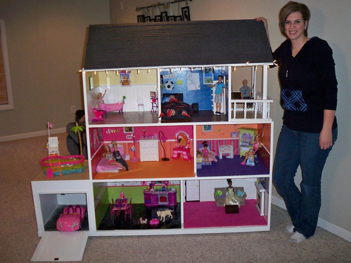 Casa de mu eca barbie y gavetero bs en - Como cazar ratones en casa ...