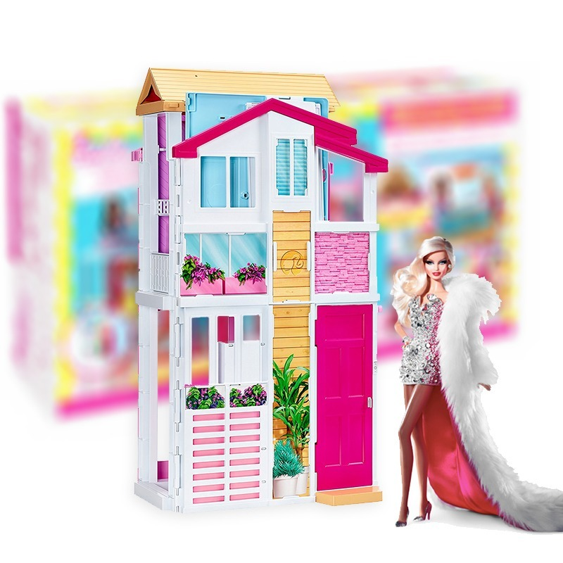 Casa de mu ecas barbie casa de campo con accesorios - Accesorios para casa de munecas ...