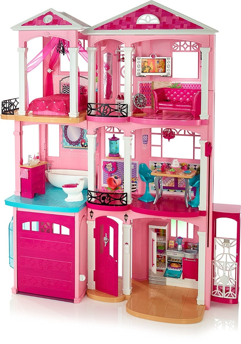 Casa De Muñecas Barbie Casa De Los Sueños Incluye Envio - $ 3,697.00 ...