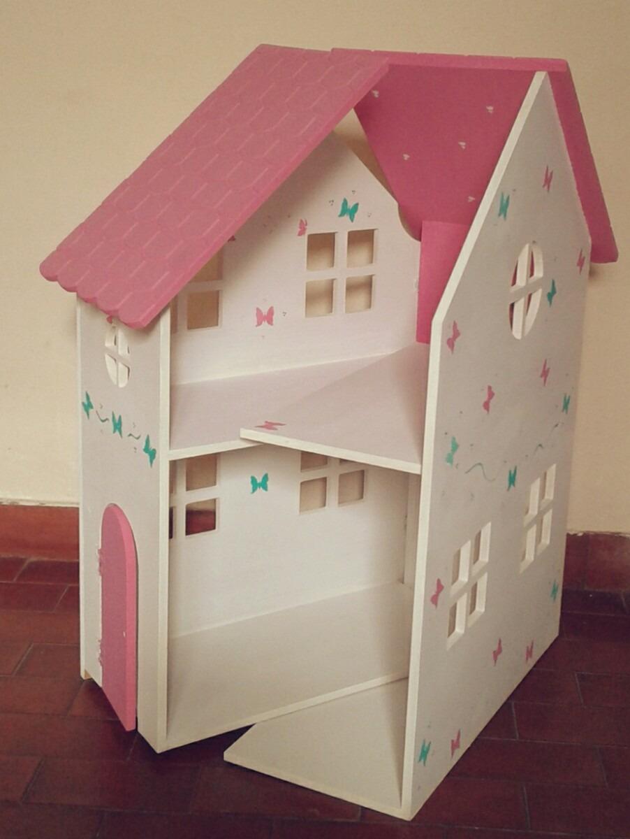 Casa De Muñecas Barbie Pintada Super Oferta