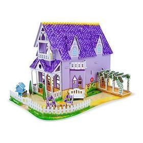 Casa De Muñecas Bonita Purpura De Melissa Y Doug Rompecabez