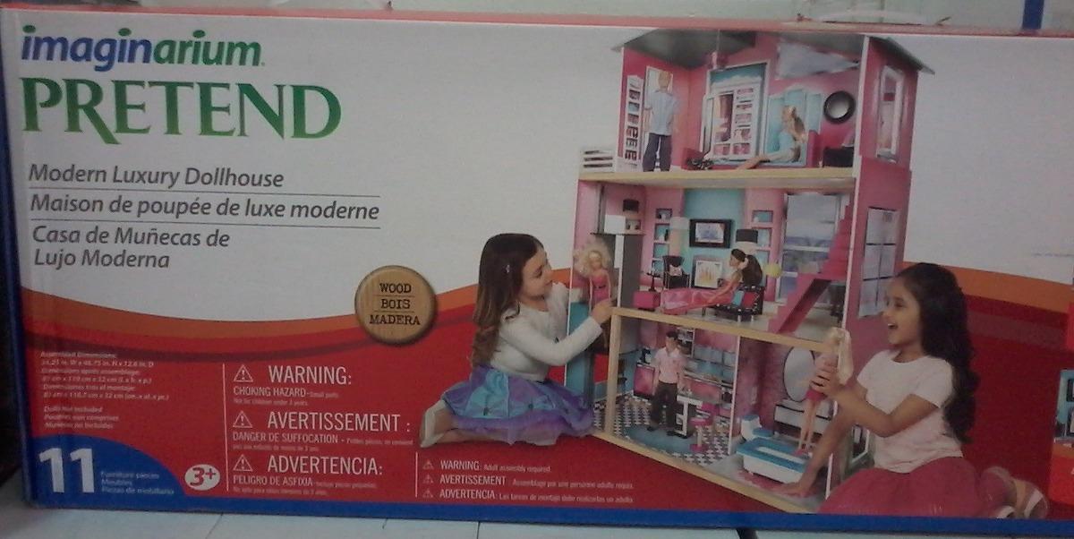 Casa De Muñecas De Madera Imaginarium Pretend Nueva - Bs. 85.000,00 ...