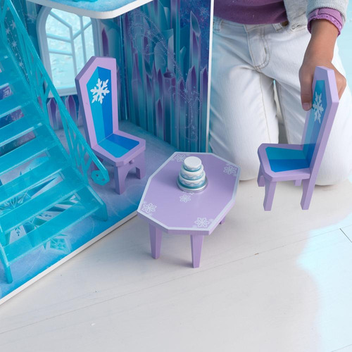 casa de muñecas frozen de disney de madera kidkraft