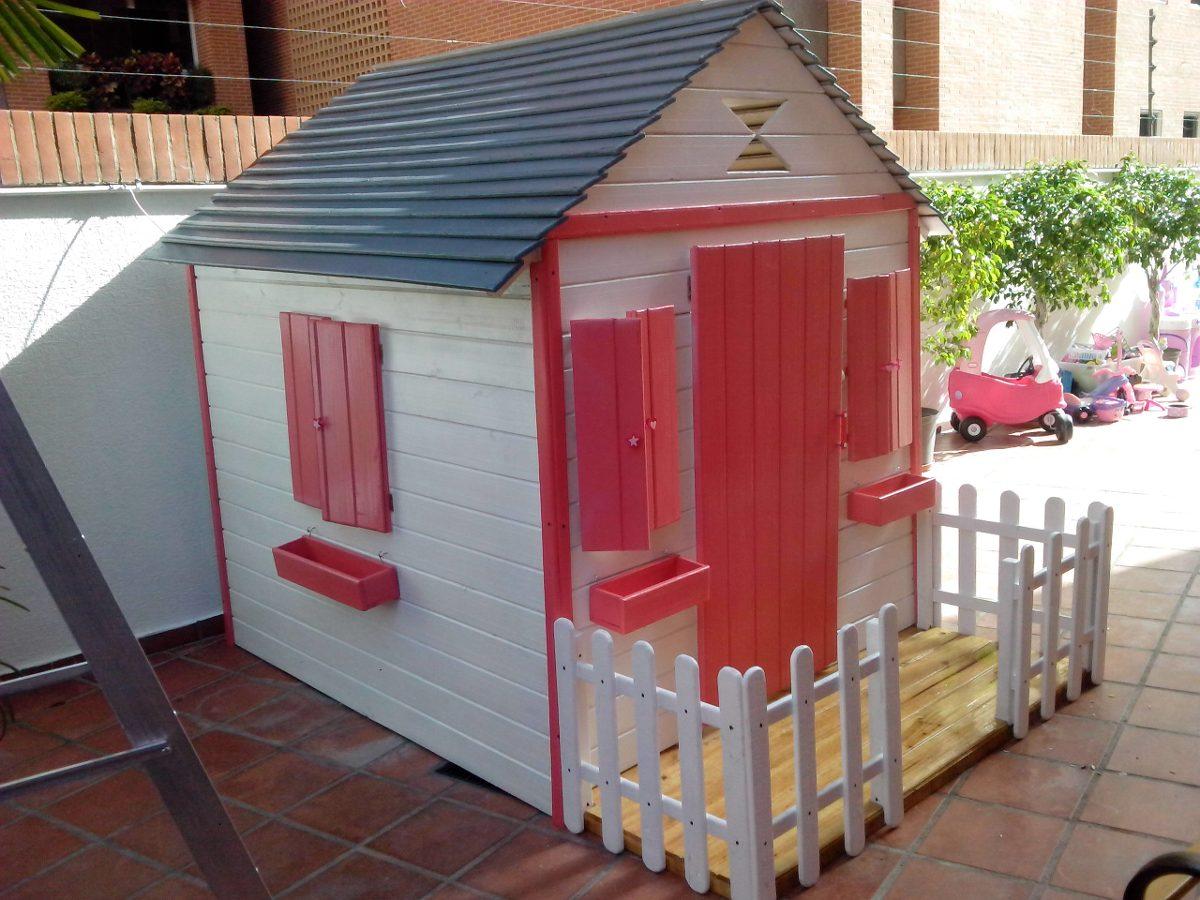 Casas de madera para ninos armazn de una casita de madera - Casa munecas eurekakids ...
