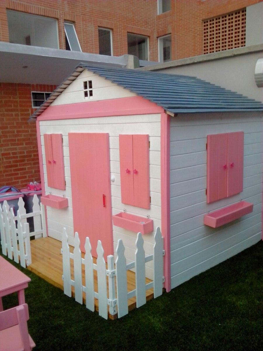 Casa de mu ecas grande en madera para ni os bs - Casitas de madera infantiles baratas ...