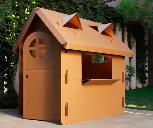 casa de muñecas /juegos en cartón corrugado