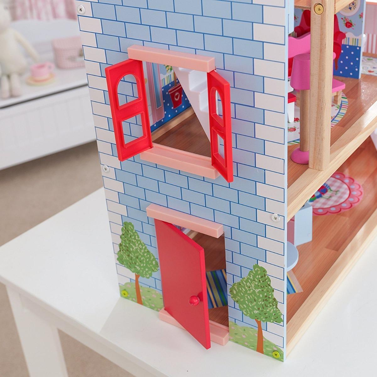 Casa De Mu Ecas Kidkraft Chelsea Doll Cottage Con Muebles  # Muebles Nogales Sonora