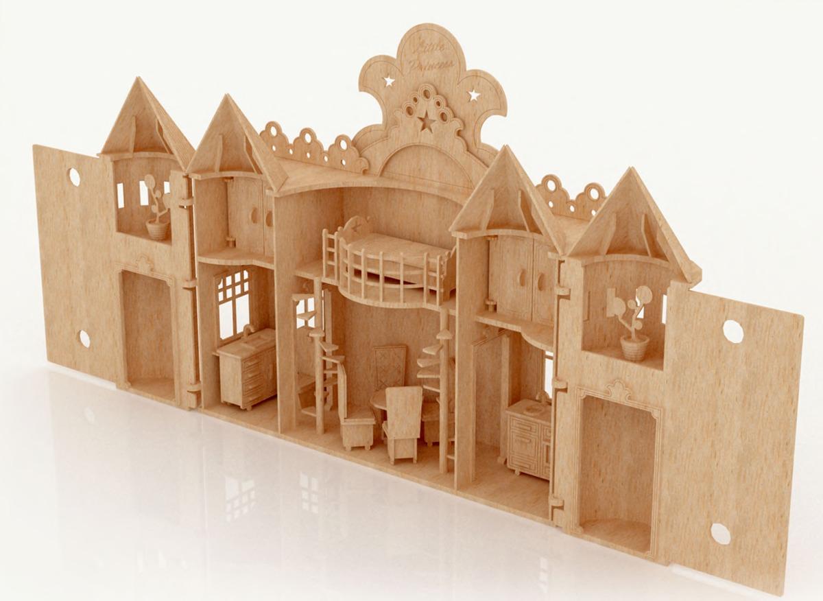 Planos de muebles de madera gratis en espanol for Muebles casa de munecas
