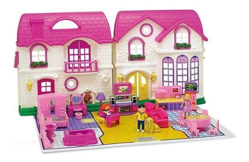 casa de muñecas para niña musical my happy family accesorios