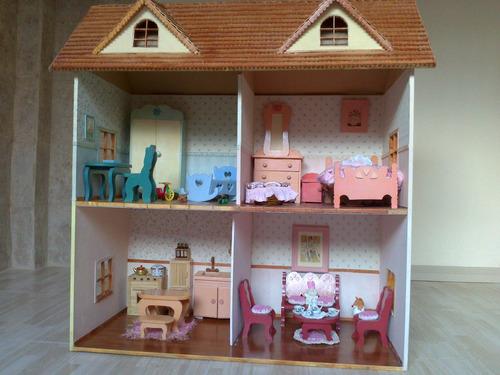 casa de muñecas pintada - escucho ofertas