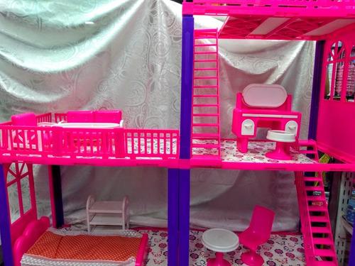 casa de muñecas tipo barbie